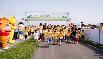 五月家庭路跑開跑 千份明星保健飲品健康送